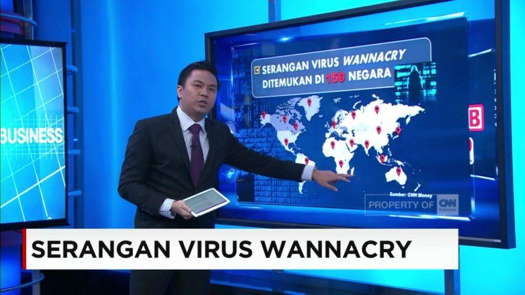 Berita Serangan Virus Wannacry oleh CNN Indonesia